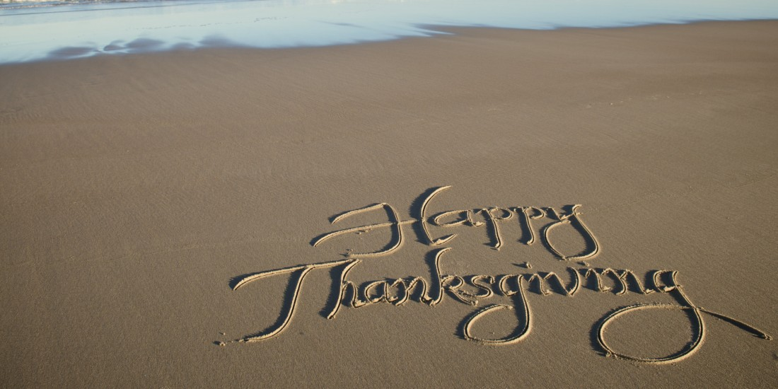 Happy THANKSGIVING-BEACH