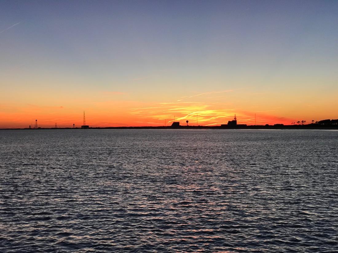 Wallop Island Sunset