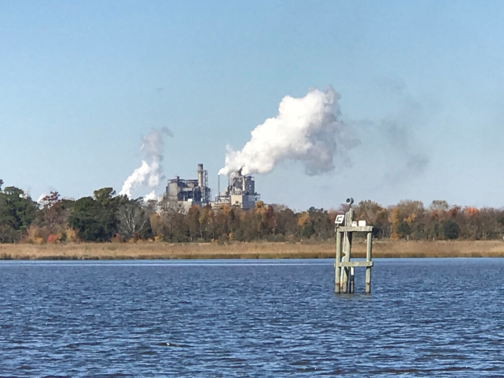 Paper Plant in Georgetown, SC
