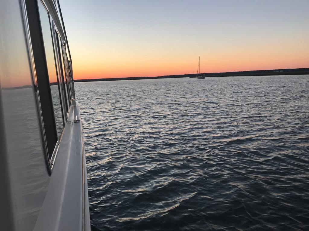 Atlantic Ocean anchorage in South Carolina