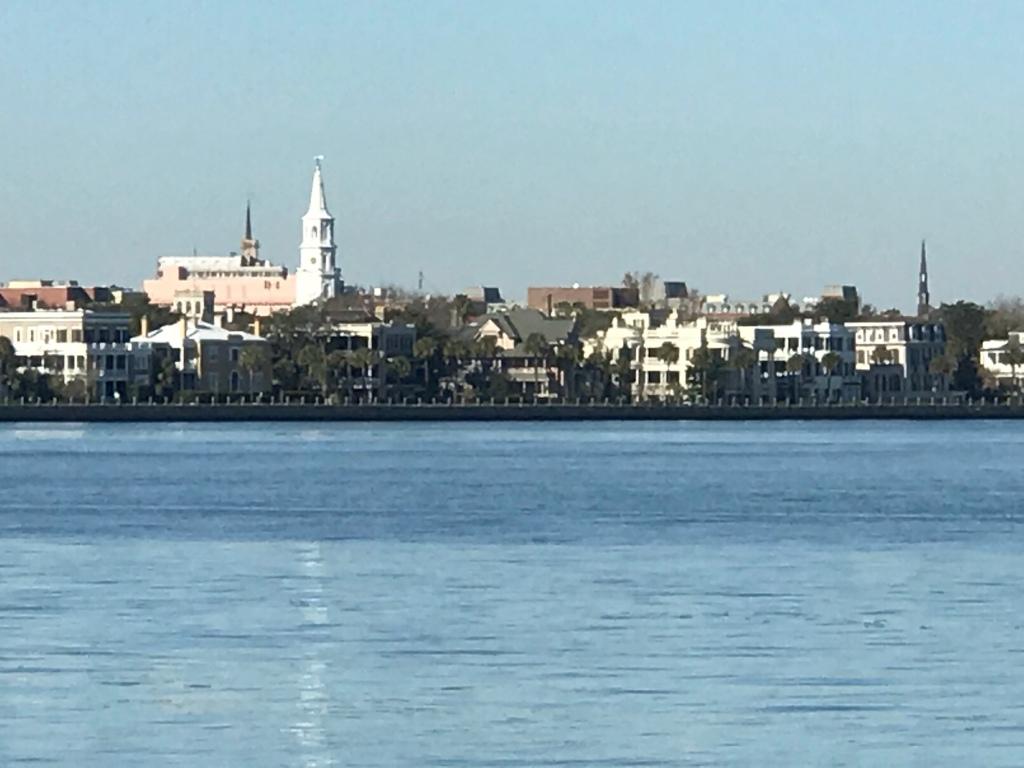 Charleston's shoreline