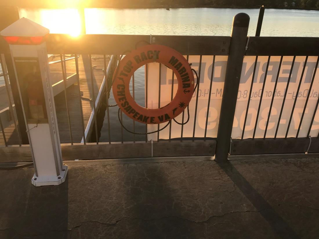 Top Rack Marina Life Ring
