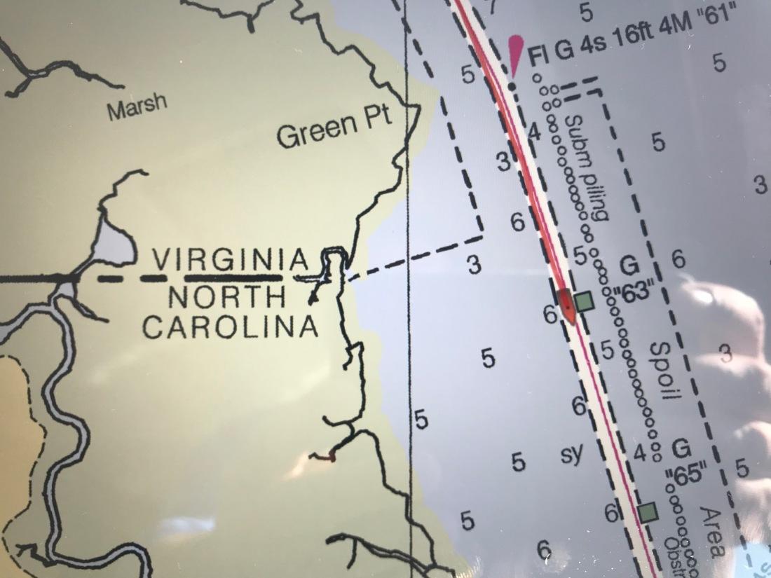 VA NC State Line
