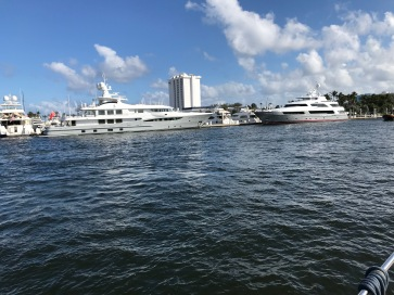 More giant yachts everywhere
