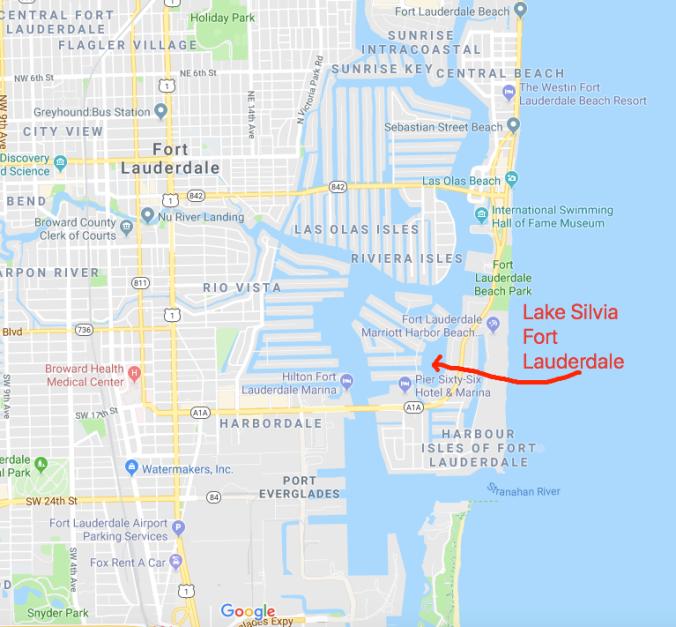 Lake Silvia Fort Lauderdale