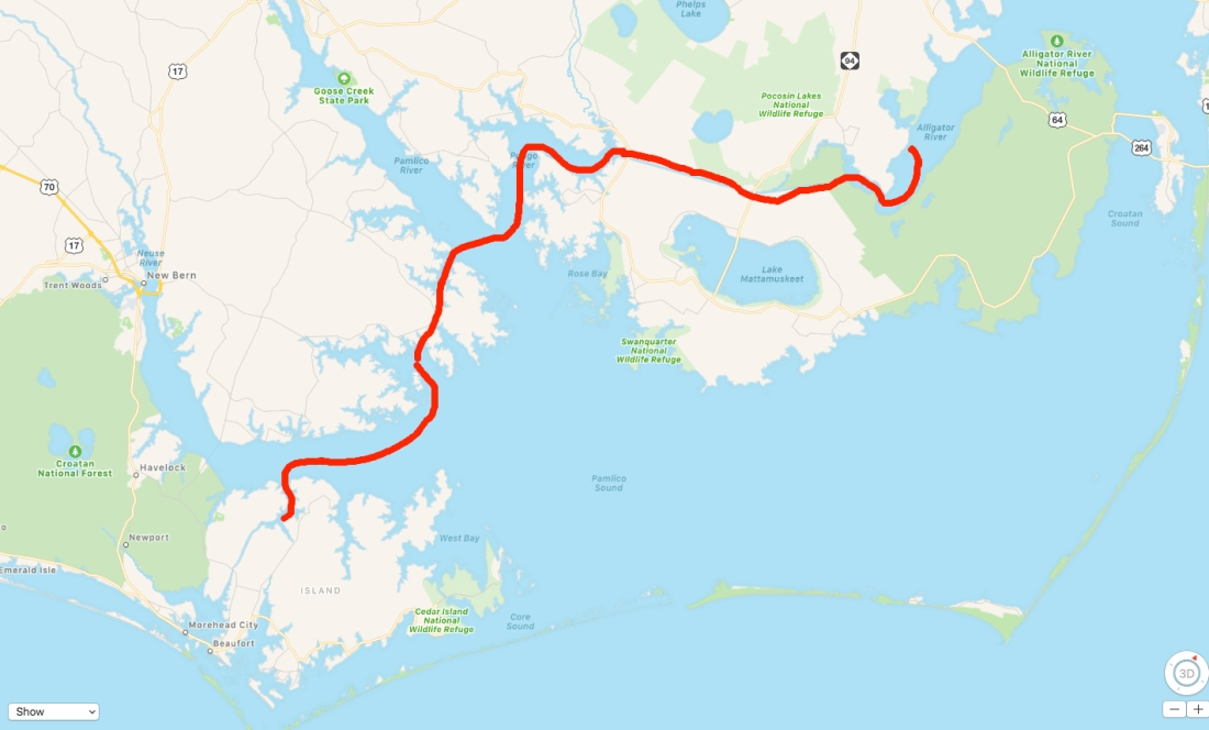 ICW NC Route