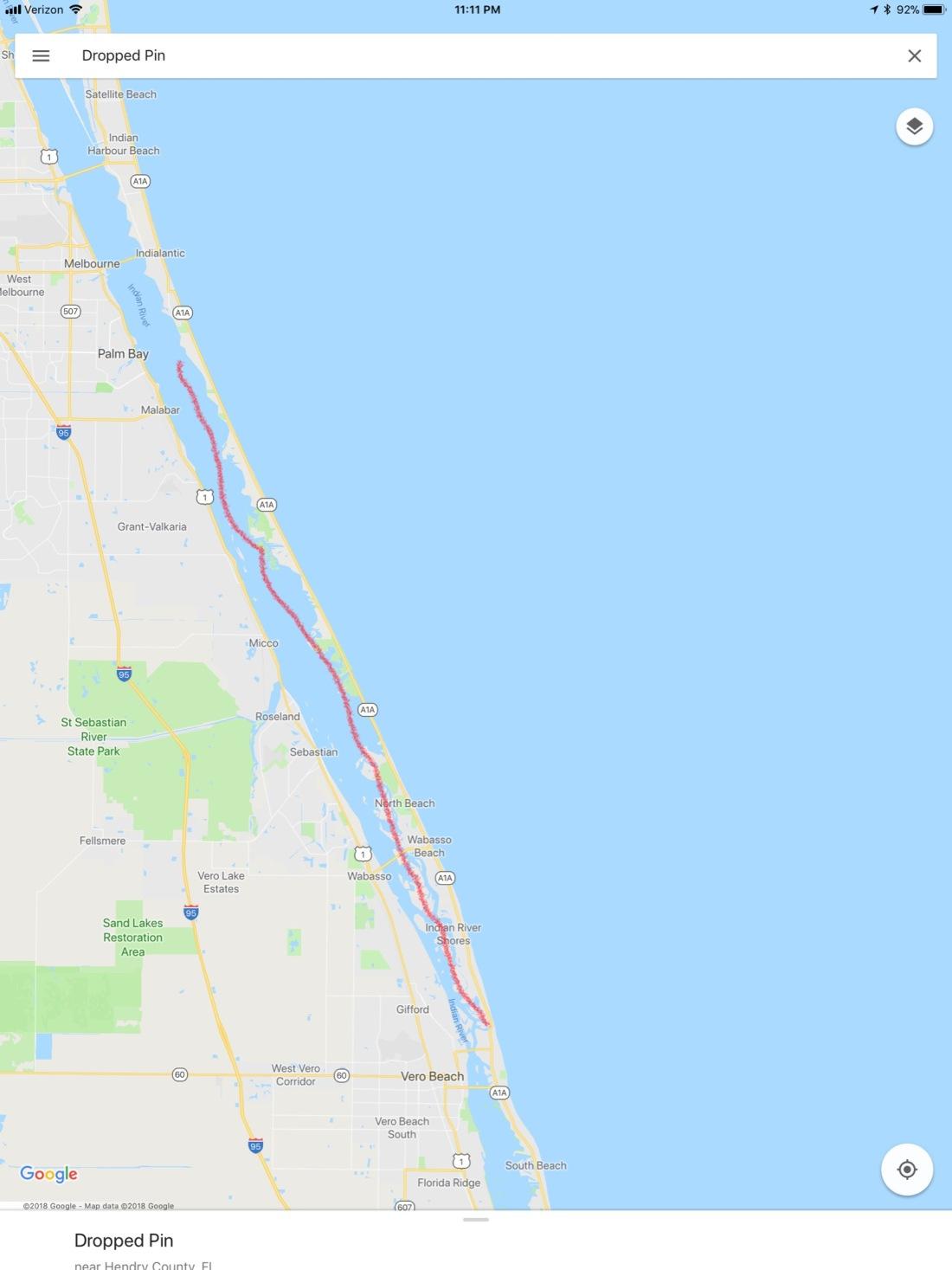 Route 1 Vero - Bluefish