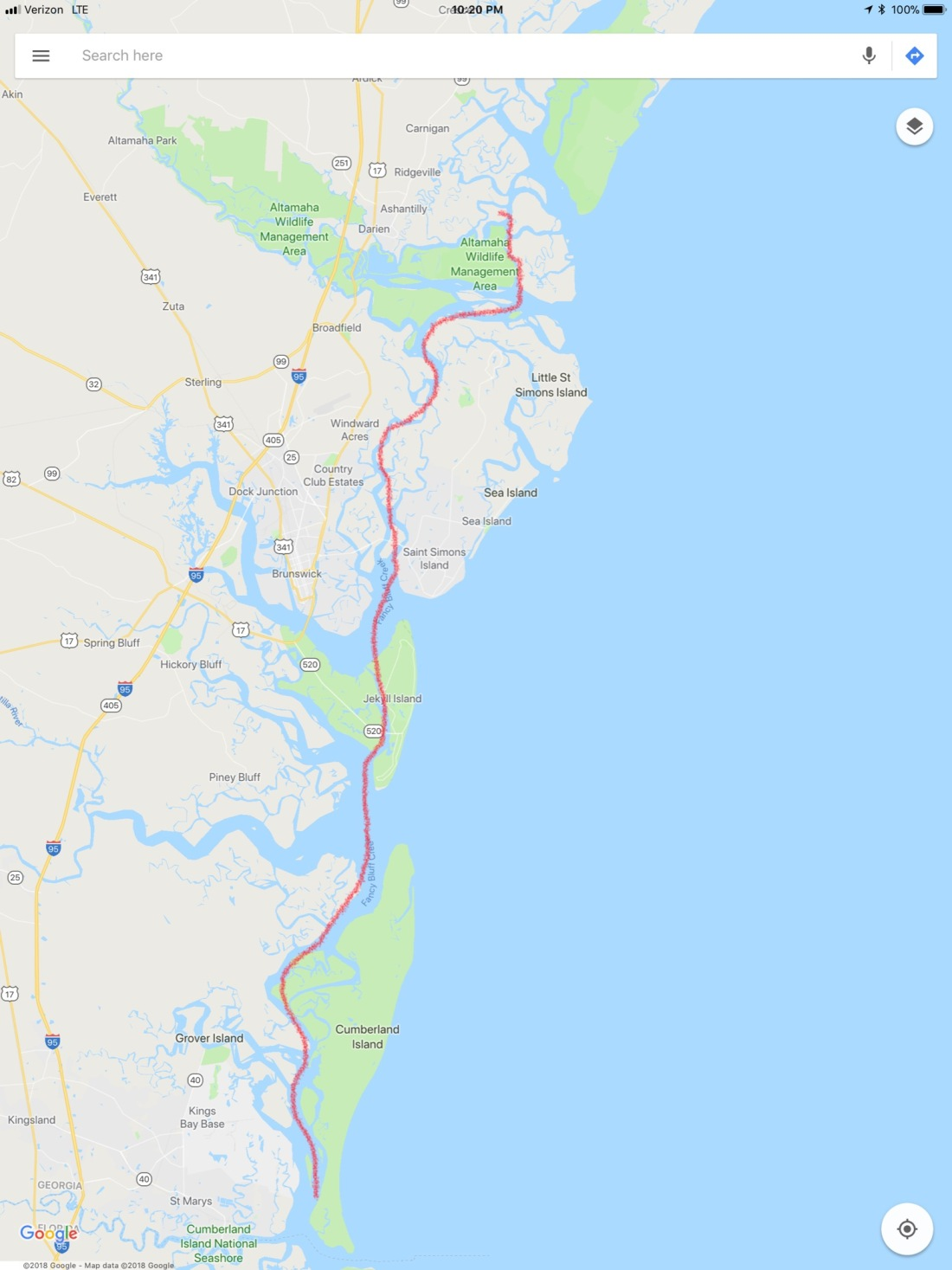 Route 5 Cumberland Sound - New River