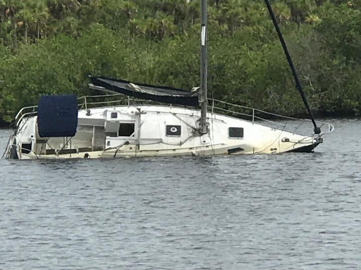 Sailboat Sunken 2