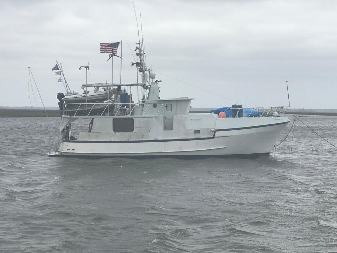 Trawler 3 Wind Generators
