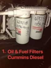 Lube & Fuel Filters