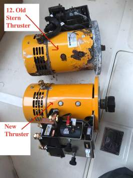 New and Old Vetus Thrusters