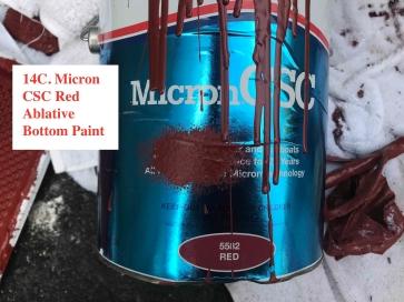Micro CSC Ablative Bottom Paint