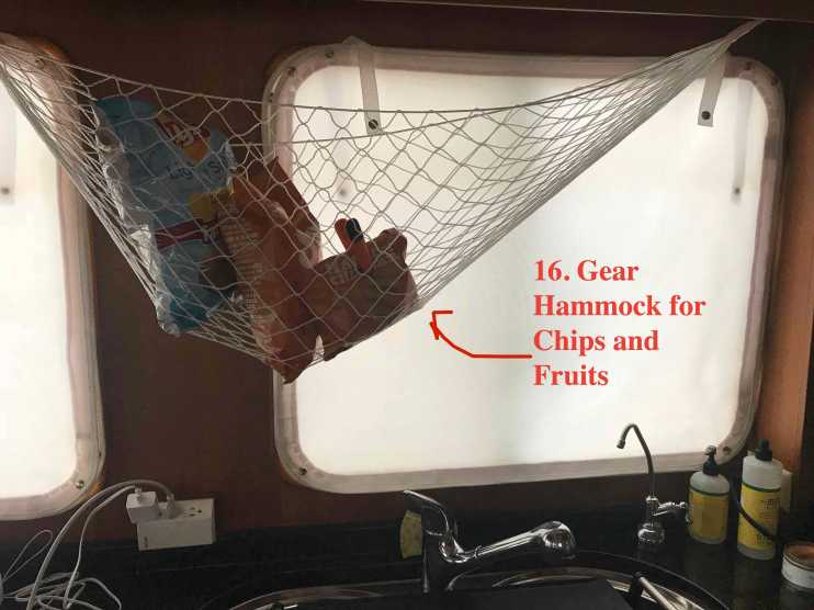 Gear Hammock Perfect for Chips