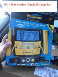 4 Port Manifold Gauge set Wireless
