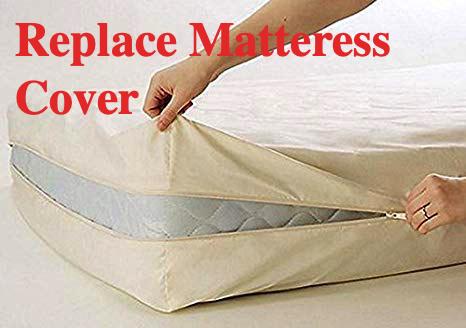 Matteress covers on a boat