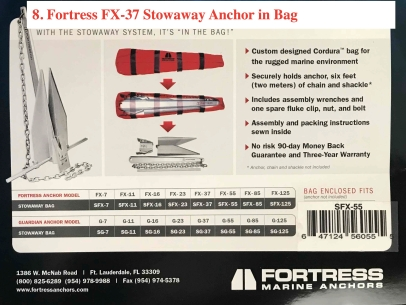 Fortress FX-37 Anchor
