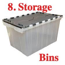 Storage Bins in Lazzerette