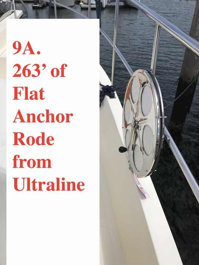 Ultraline 263' Flat Anchor line